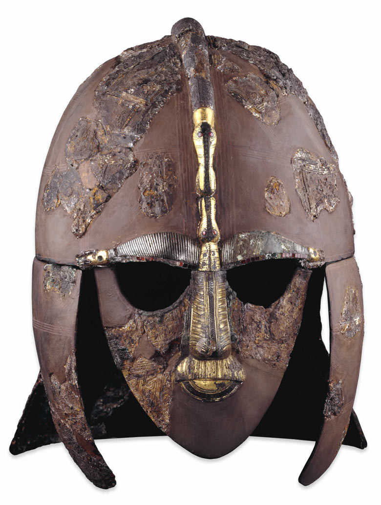 Savage Warrior Sutton Hoo Helmet Art And Design The