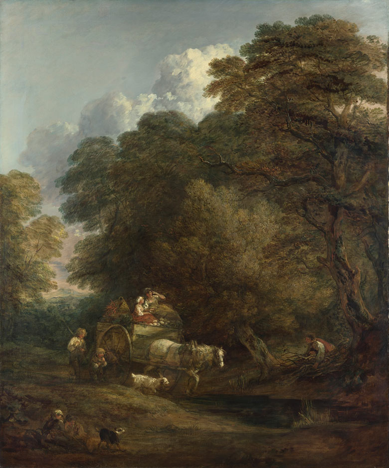 Thomas Gainsborough's The Market Cart, 1786