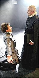 Derek Jacobi and Richard Coyle in Don Carlos