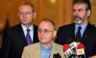 Denis Donaldson, Martin McGuinness and Gerry Adams