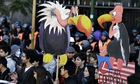 Rally in Buenos Aires over economic 'vultures'