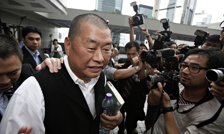 Anti-graft officers search Hong Kong home of media tycoon Jimmy Lai