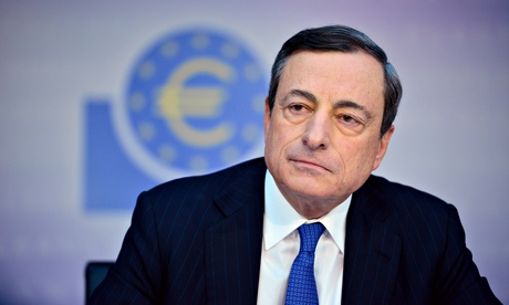 Eurozone boost of €1.1tn in 'shock and awe' plan by Central Bank