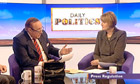 Harriet Harman on the Daily Politics show with Andrew Neil