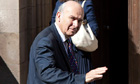 Britain's Business Secretary Vince Cable arrives to appear in front of the Leveson Inquiry