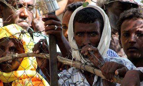 Eritrean Refugees at Shagarab Refugees camp at Kassala