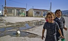 The Roma settlement near Larissa, Greece, where Maria was found by police.