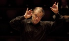 Valery Gergiev conducting the LSO in rehearsals for Berlioz's Damnation of Faust