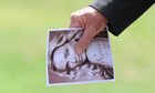 A relative of the late Reeva Steenkamp at her funeral
