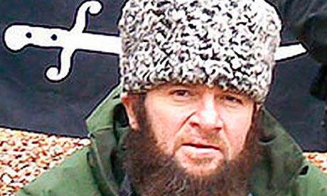 Chechen separatist leader Doku Umarov.