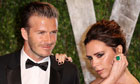 David Beckham and his wife, Victoria, formerly of the Spice Girls.