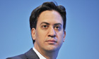 Ed Miliband at the Labour party conference: