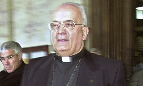 Pierre Pican, bishop of Bayeux, France, who was charged with failing to report a paedophile priest