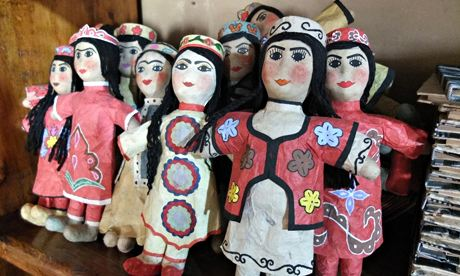 Puppets from Samarkand paper