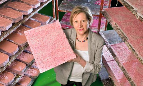Mo Constantine photographed with her Palm Oil Free Soap