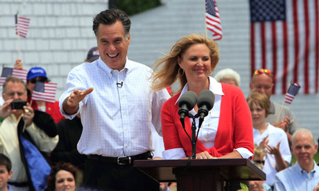Mitt Romney declares his candidacy for President