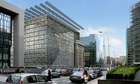 CGI of new European Council building 'Europa' in Brussels