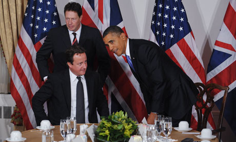 David Cameron and President Obama
