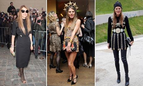 Anna Dello Russo fashion montage