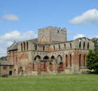 Restoration of Lanercost Priory dossal