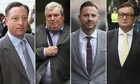 Hacking trial, four plead guilty