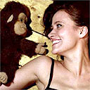 Ventiloquist Nina Conti and her dummy monkey