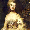 Mrs Mary Robinson: Perdita by Thomas Gainsborough. Courtesy: Bridgeman Art Library