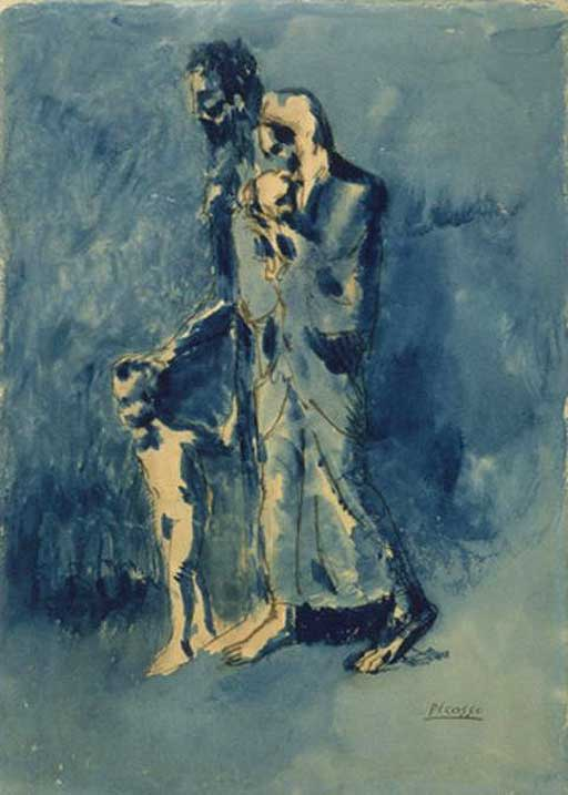 picasso paintings images. The three stolen paintings