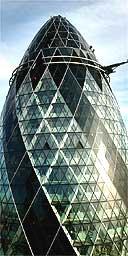Swiss Re building, London (aka the Gherkin)