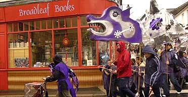 Blaenavon booktown anniversary parade