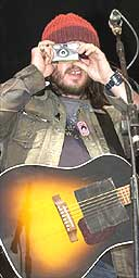 Badly Drawn Boy,Glastonbury 2004