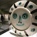 Picasso ceramic from an exhibition in Palma de Mallorca, December 2004