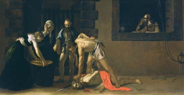 The Beheading of Saint John the Baptist, Caravaggio
