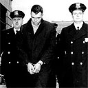 William Zantziger after his arrest for the murder of Hattie Carroll in 1963