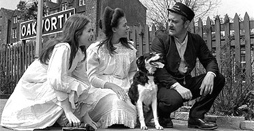 Sally Thomsett, Jenny Agutter and Bernard Cribbins in the 1970 film of The Railway Children