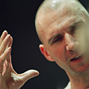 Ralph Fiennes in rehearsals for Julius Caesar at the Barbican