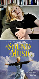 Ann Widdecombe (photo: Pete Millson) and The Sound of Music DVD