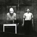 Simon Keenlyside in rehearsal for 1984