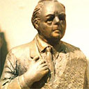 Glyn Williams's design for a Harold Wilson statue