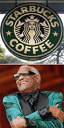 Starbucks and Ray Charles