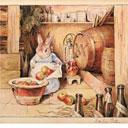 Beatrix Potter, Cecily Parsley brewing cider