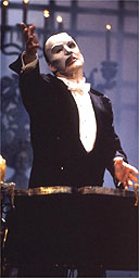 Howard McGillin as the Phantom of the Opera on Broadway