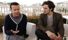 Aaron Johnson and Enda Walsh on Chatroom