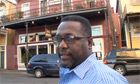Wendell Pierce, star of Treme, in New Orleans