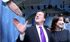 David Cameron And The Conservative Party Launch Their Election Manifesto