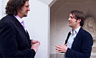Jay Rayner and René Redzepi at the 50 best restaurants award