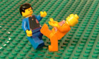 Brick-by-brick fussball: The 2010 World Cup final: Holland 0-1 Spain