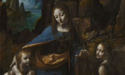 Restoring da Vinci's Virgin of the Rocks at the National Gallery
