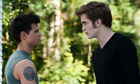 Taylor Lautner and Robert Pattinson in David Slade's The Twilight Saga: Eclipse