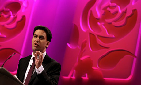 Ed Miliband Gives His First Keynote Conference Speech As Party Leader